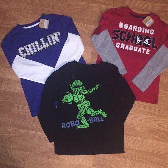 516d6378c Crazy 8 Shirts & Tops   3 Boys Shirts Lot   Poshmark